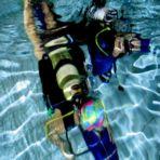 2013.09 Basenowe nurkowanie klas mundurowych ZS Nr 1 w Nowej Dębie