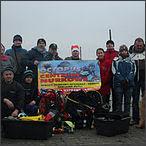 2011-12-26 Świateczne Nuranie w Jeziorze Tarnobrzeskim
