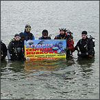 2011-12-31 Sylwestrowe Nurkowanie w Jeziorze Tarnobrzeskim